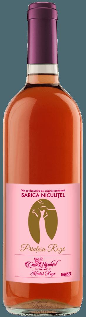 Merlot Roze Sarica Niculitel